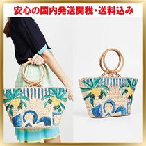 ARANAZ Tropical Patterns Elegant Style Totes