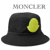 MONCLER Unisex Bucket Hats Wide-brimmed Hats