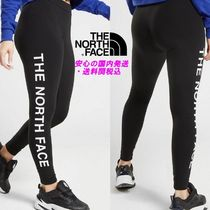 THE NORTH FACE Street Style Plain Cotton Leggings Pants