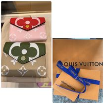 Louis Vuitton MONOGRAM Monogram Canvas Bi-color Folding Wallets