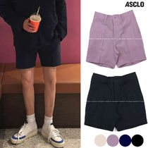 ASCLO Slax Pants Unisex Plain Shorts
