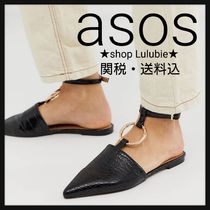 ASOS Faux Fur Other Animal Patterns Elegant Style Sandals