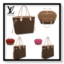Louis Vuitton Monogram Casual Style Canvas Blended Fabrics 2WAY Totes