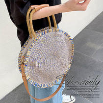 2WAY Straw Bags