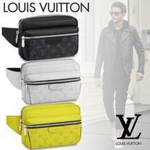Louis Vuitton BUMBAG Monogram Blended Fabrics Street Style 2WAY Bi-color Leather