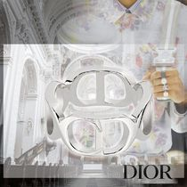Christian Dior Street Style Silver Rings