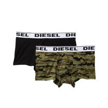 DIESEL Camouflage Plain Cotton Boxer Briefs