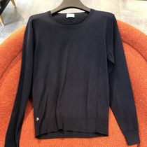 CELINE Crew Neck Wool Long Sleeves Plain Knits & Sweaters