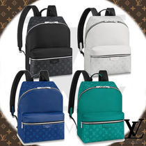 Louis Vuitton TAIGA Monogram Canvas Backpacks