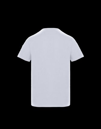 MONCLER More T-Shirts Plain Cotton Short Sleeves T-Shirts 3