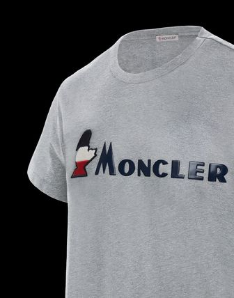 MONCLER More T-Shirts Plain Cotton Short Sleeves T-Shirts 6