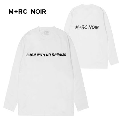 MRC NOIR Long Sleeve Crew Neck Street Style Long Sleeves Long Sleeve T-Shirts