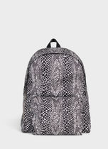 CELINE Nylon A4 Python Backpacks