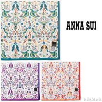 ANNA SUI Cotton Handkerchief