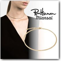 Ron Herman Casual Style Chain 18K Gold Necklaces & Pendants