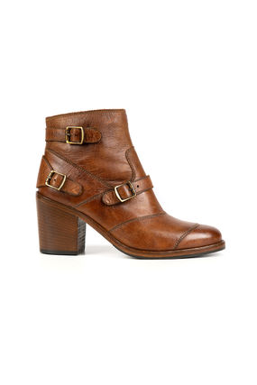 Plain Leather Boots Boots