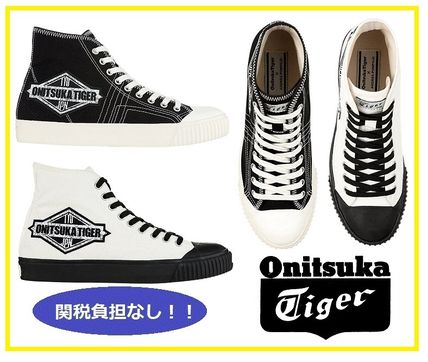 finest selection 3cc74 cab06 Onitsuka Tiger 2019 SS Unisex Plain Sneakers (1183A363)