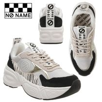 NO NAME Casual Style Unisex Street Style Plain Low-Top Sneakers