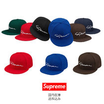 Supreme Unisex Street Style Collaboration Caps