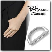 Ron Herman Silver Office Style Rings