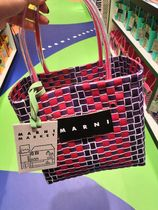 MARNI Other Check Patterns Nylon Blended Fabrics Special Edition