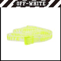 Off-White Unisex Belts