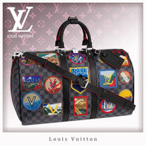 Louis Vuitton DAMIER GRAPHITE Unisex Street Style 1-3 Days Soft Type Carry-on