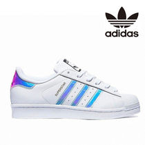 adidas SUPERSTAR Casual Style Leather Low-Top Sneakers