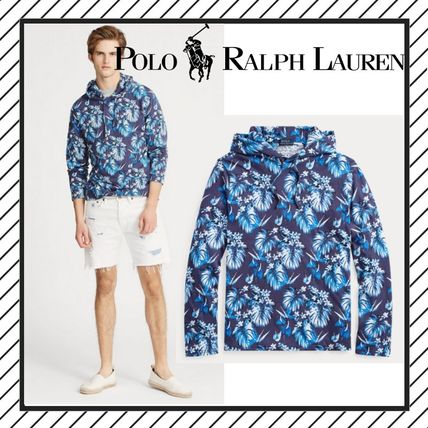 Flower Patterns Tropical Patterns Street Style Long Sleeves