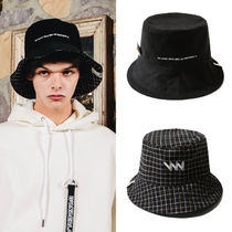 WV PROJECT Unisex Street Style Bucket Hats Wide-brimmed Hats