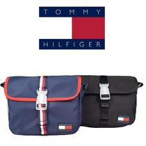 Tommy Hilfiger Casual Style Logo Shoulder Bags
