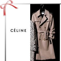 CELINE Unisex Plain Long Coats