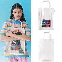 STEREO VINYLS COLLECTION Unisex Street Style Collaboration A4 Plain PVC Clothing