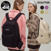 SCULPTOR Casual Style Unisex Street Style A4 Backpacks