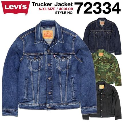 Camouflage Denim Plain Denim Jackets Jackets