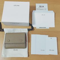CELINE Bi-color Folding Wallets