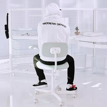 Off-White Street Style Long Sleeves Plain Cotton Hoodies
