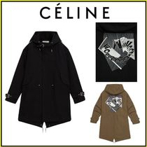 CELINE Street Style Collaboration Long Parkas