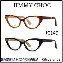 Jimmy Choo Unisex Oval Optical Eyewear