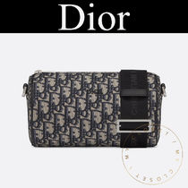 Christian Dior Monogram Canvas Blended Fabrics Street Style