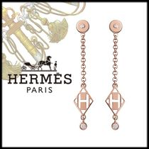 HERMES Chain Home Party Ideas Elegant Style Earrings & Piercings