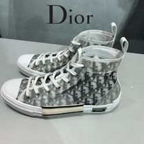 Christian Dior Monogram Blended Fabrics Street Style Collaboration Leather