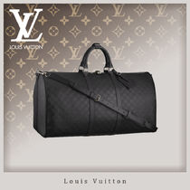 Louis Vuitton DAMIER INFINI Unisex 5-7 Days Soft Type Carry-on Luggage & Travel Bags