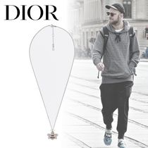 Christian Dior Street Style Metal With Jewels Necklaces & Chokers