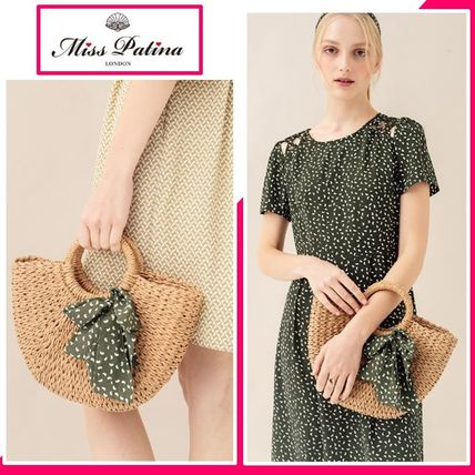 Plain Purses Straw Bags