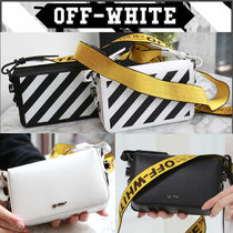 Off-White Stripes Casual Style Street Style Shoulder Bags