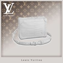 Louis Vuitton Crocodile Blended Fabrics 2WAY Chain Other Animal Patterns