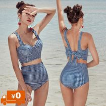 Gingham Other Check Patterns Bikinis