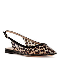 Gianvito Rossi Leopard Patterns Casual Style PVC Clothing Pointed Toe Shoes