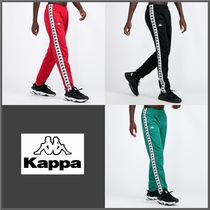 Kappa Tapered Pants Street Style Tapered Pants